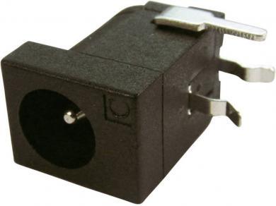 Soclu de alimentare Cliff FCR681465P, montare pe circuite imprimate, Ø pin 2,1 şi 2,5 mm, 5 A