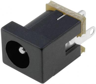 Soclu de alimentare Cliff FC68146, montare pe circuite imprimate, Ø pin 2,1 mm, 5 A