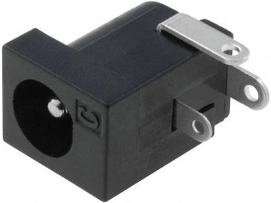 Soclu de alimentare Cliff FC68148, montare pe circuite imprimate, Ø pin 2,1 mm, 5 A