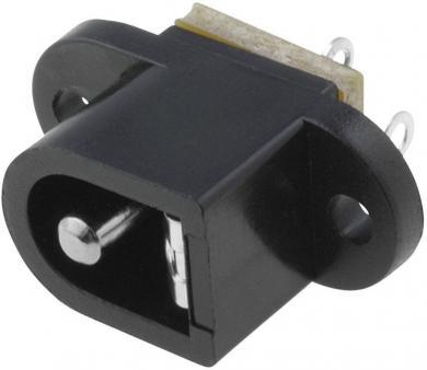 Soclu de alimentare Cliff FC681492, montare pe circuite imprimate, Ø pin 2,1 mm, 5 A
