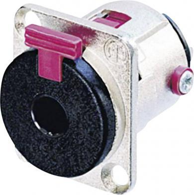 Jack 6,35 mm, soclu mamă, pentru montare, NJ 3 FP 6 C Neutrik