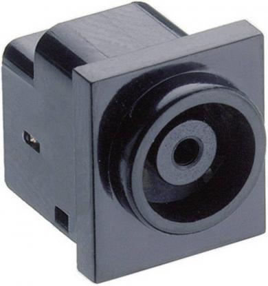 Soclu mamă alimentare 18 V/DC 2 A, 7.0 mm, montare PCB, contact de comutare, 1613 11 Lumberg