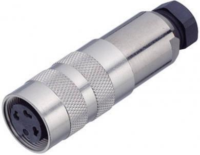 Conector circular, 5 pini, blocare cu şurub, AWG 20, 6 A, Binder 99-5114-15-05