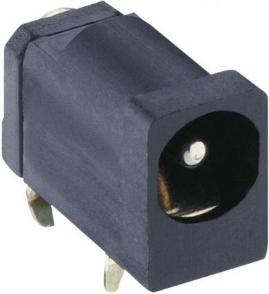 Soclu mamă alimentare 6 V/DC 0.5 A, 4.5 mm, montare PCB, 1613 16 Lumberg