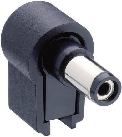 Mufă tată alimentare, 5.5 mm/2.1 mm, 12 V/DC 0.5 A, NES/J 21 W Lumberg