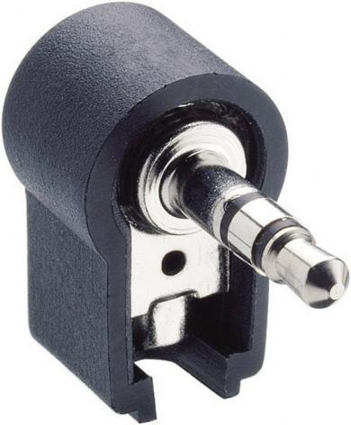 Jack 3,5 mm, mufă tată, stereo, în unghi, WKLS 40 Lumberg