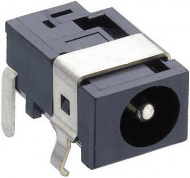 Soclu mamă alimentare 10.5 V/DC 2 A, 5.15 mm, montare PCB, 1613 07 Lumberg