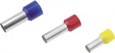 Inel de etanşare izolat conform DIN 46228, Cimco, 1 mm² x 6 mm, roşu, seria de culoare 1, 100 bucăţi
