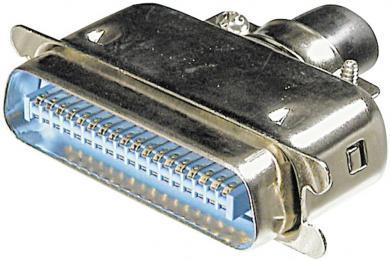 Conector tată Centronics, drept, 24 pini