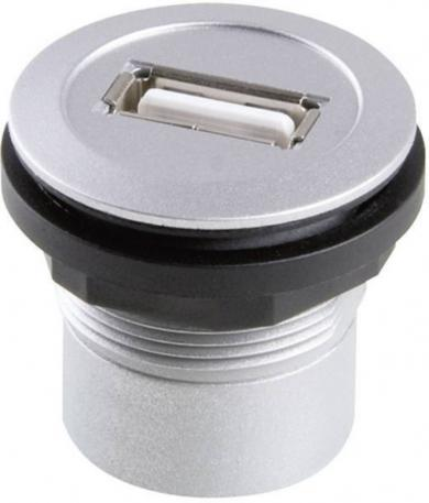 Conector USB 3.0, soclu, 9 pini, pentru montare, RRJ_USB3_AA Schlegel