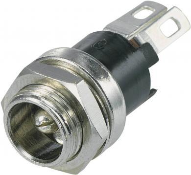 Soclu mamă alimentare 24 V/DC, 5.5 mm, cu contact de comutare, SCI