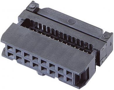 Conector IDC, 2 x 5 pini, raster 2,54 mm, BKL Electronic 10120111