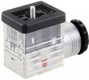 Conector supapă 2+PE, 24 V,...