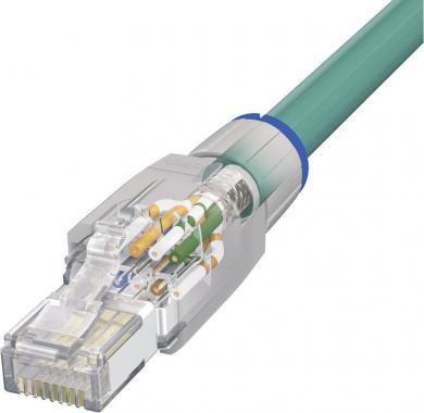 Conector RJ45 IP20 – CAT5e, 8 pini, VS-08-RJ45-5-Q/IP20 Phoenix Contact, gri