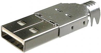 Mufă USB A 2.0 pentru auto-asamblare, A-USBPA-N Assmann