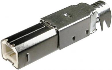 Mufă USB B 2.0 pentru auto-asamblare, A-USBPB-N Assmann