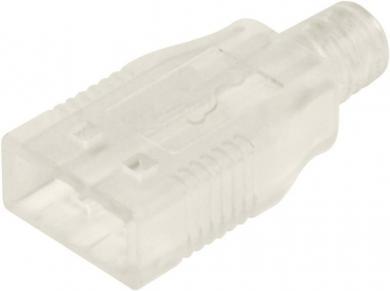 Manşon USB A, A-USBPA-HOOD-N Assmann