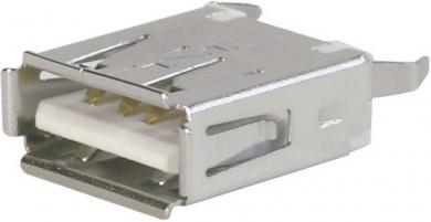 Conector soclu USB A 2.0 pentru montare 180°, A-USB A-TOP Assmann