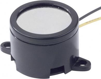 Buzer miniatură tip AL-28SW12-DT, 85 dB, 15 mA, 9-15 V/DC, tip sunet continuu
