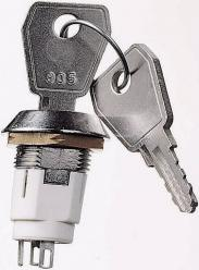 Întrerupător cu cheie 50 V/DC...