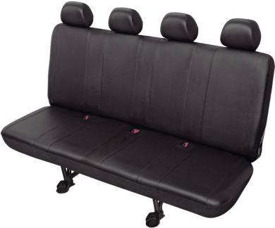 Husă banchetă 4 scaune XXL, piele sintetică, gri, HP Autozubehör