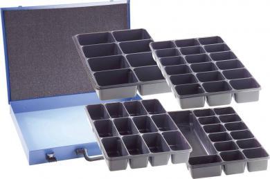 Cutie compartimentată din oţel