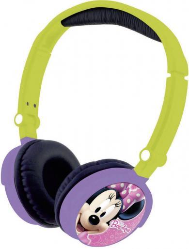Căști pentru copii Lexibook Minnie Mouse