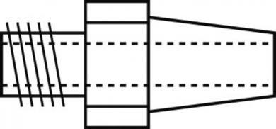 Vârf dezlipire/duză de schimb, Ø aspiraţie 2,0 mm