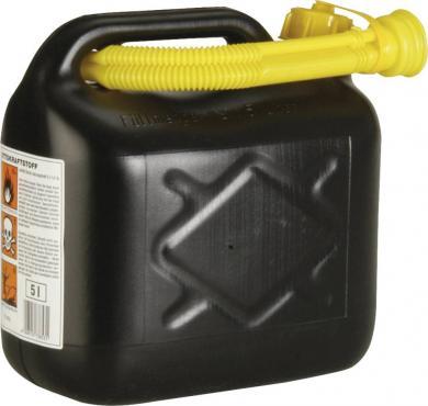 Canistră benzină 5 l, plastic