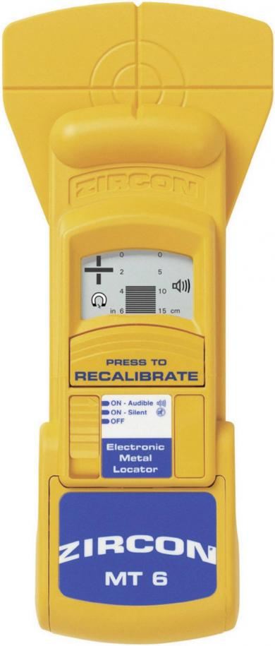 Detector de metale Zircon MetalliScanner® MT 6