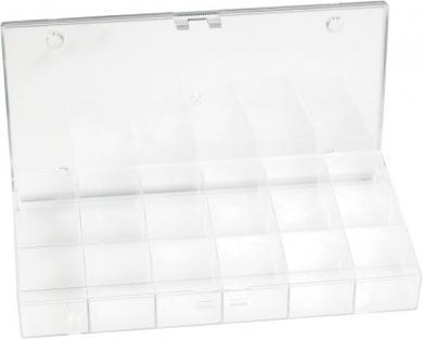 Cutie depozitare cu 18 compartimente