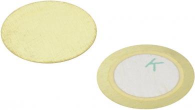 Traductor acustic piezo ceramic fără circuit electronic, 800 Ω, 30 V/AC, 6,5 ± 1.0 kHz, Kepo FT-12T-6.5A1-K883