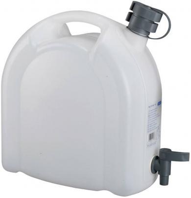 Canistră pentru apă cu robinet şi tub de scurgere, 10 l