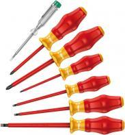 Set 6 şurubelniţe VDE + creion...