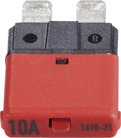 Siguranţă plată automată 10 A, roşu, CE1610-21-10A