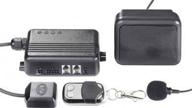 Alarmă auto GKA100 cu tracker GSM & GPS