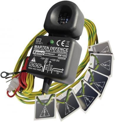 Dispozitiv cu ultrasunete anti-jderi, cu plăci de înaltă tensiune, Kemo M186