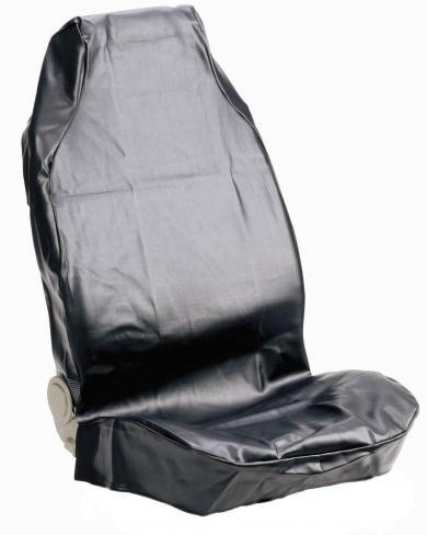 Husă universală scaun auto pentru atelier, piele sintetică, negru