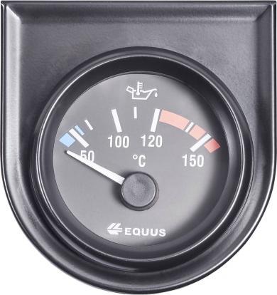 Termometru ulei/apă încastrabil EQUUS®