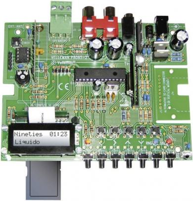 Kit MP3 player, 2 x 5 W (RMS), 12 V/DC, 1 A