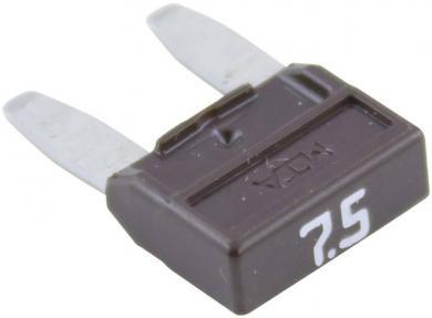 Mini-siguranţă plată (FK1), 7,5 A