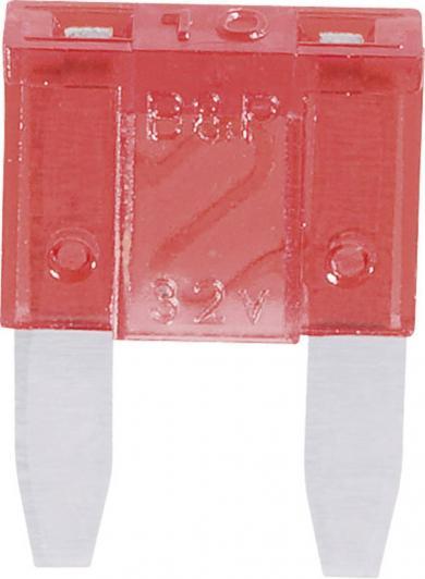 Mini-siguranţă plată (FK1), 10 A
