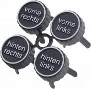 Marcaje pentru anvelope, 4 bucăţi