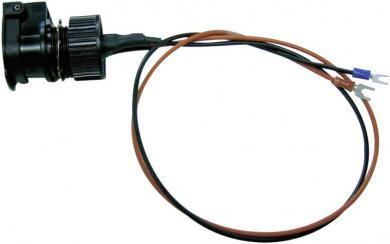 Priză cu capac etanş, adecvat pentru priză brichetă auto, 12-24 V/DC