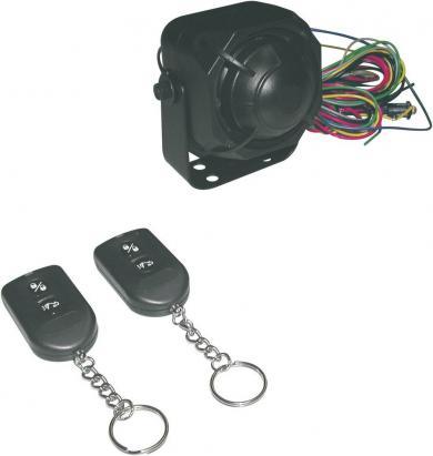 Sistem alarmă auto compact