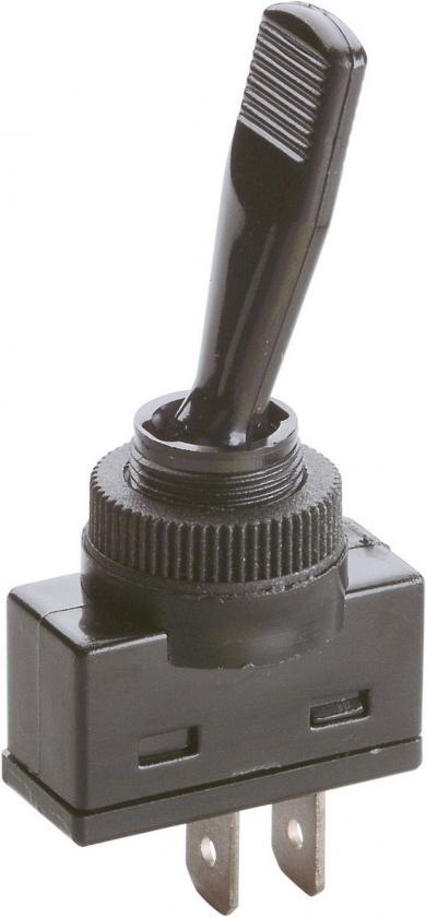 Întrerupător de siguranţă, 12 V/DC, max. 16 A, ON/ON