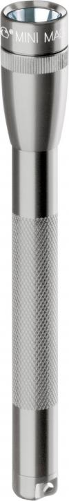 Lanternă Mini Mag-Lite® AAA, 125 mm, autonomie 2,5 ore, gri-titan