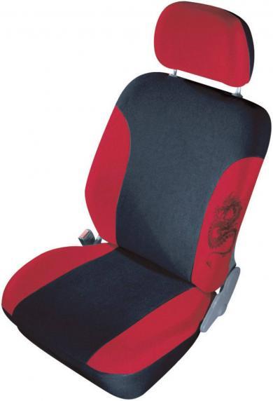 Set huse universale scaun auto, roşu, 11 piese, Cartrend Mystery