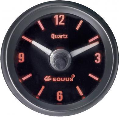 Ceas cu cuarţ încastrabil EQUUS®, culori iluminare albastru/verde/galben/roşu