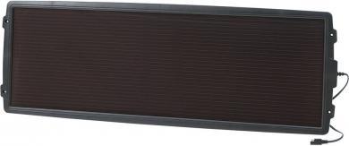 Protecţie acumulator cu panou solar 15W